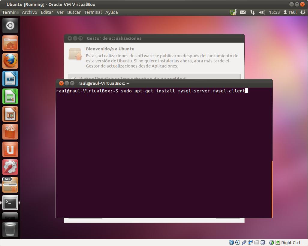 Instalando MySQL por linea de comandos