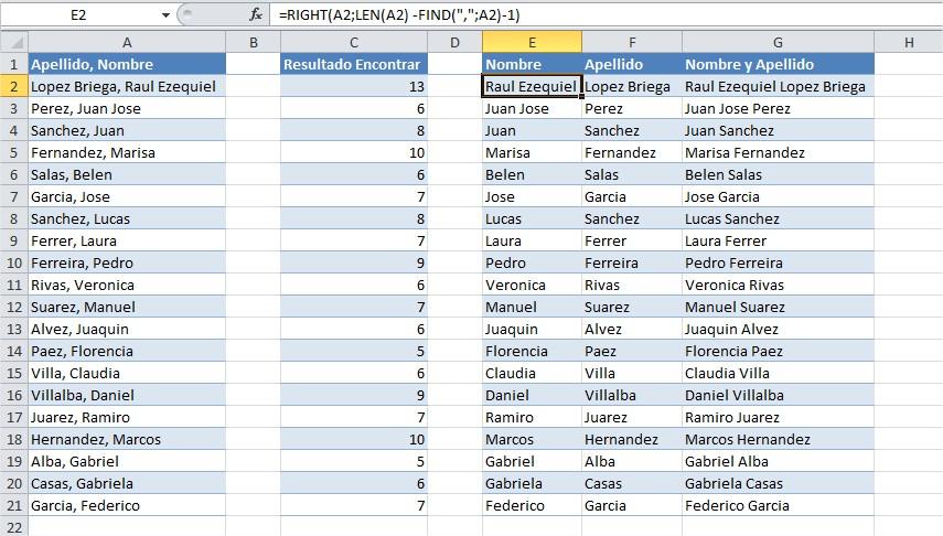 Excel Tips Funciones Para Manipular Texto Raul E