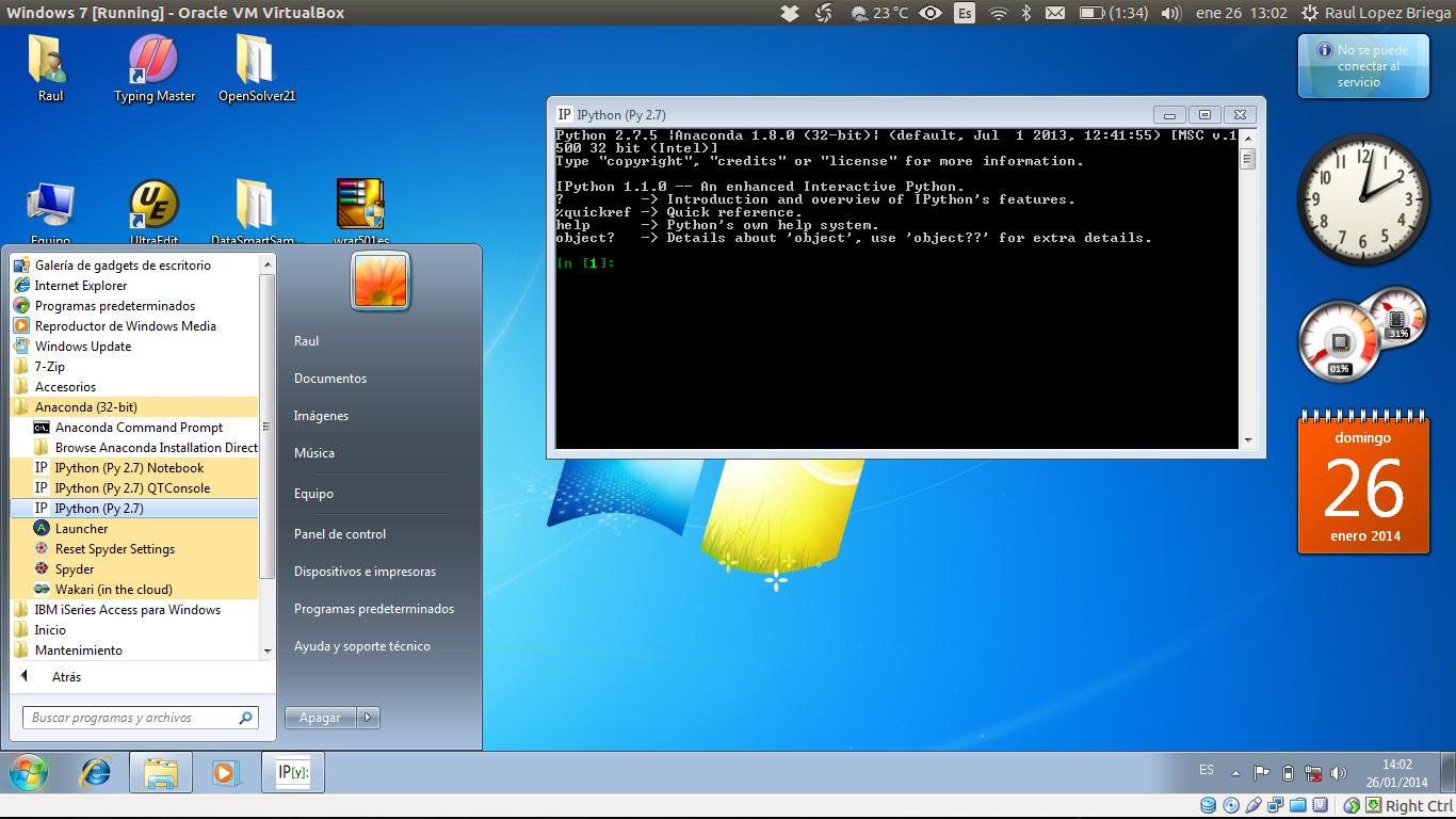 IPython en Windows